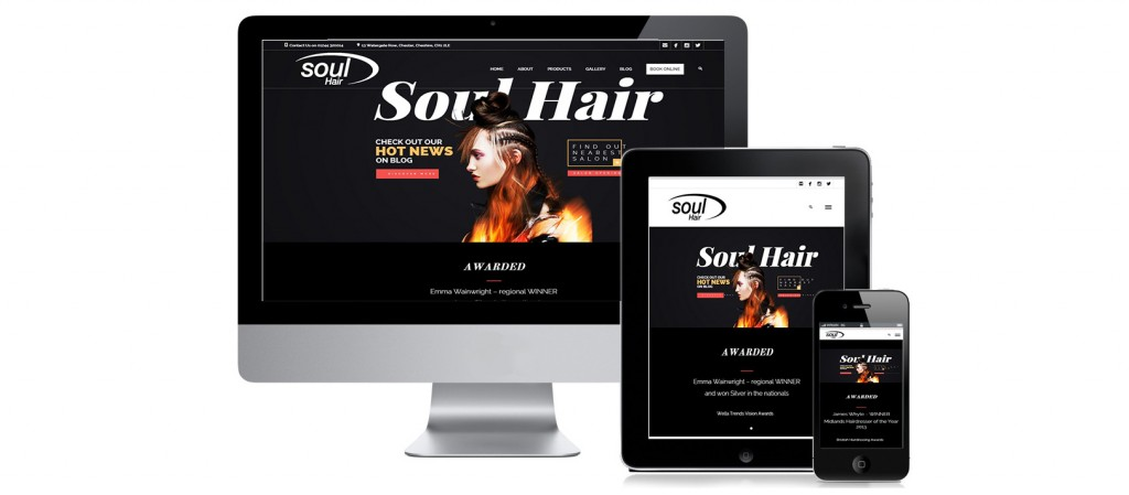 web project studios responsive design soulhair