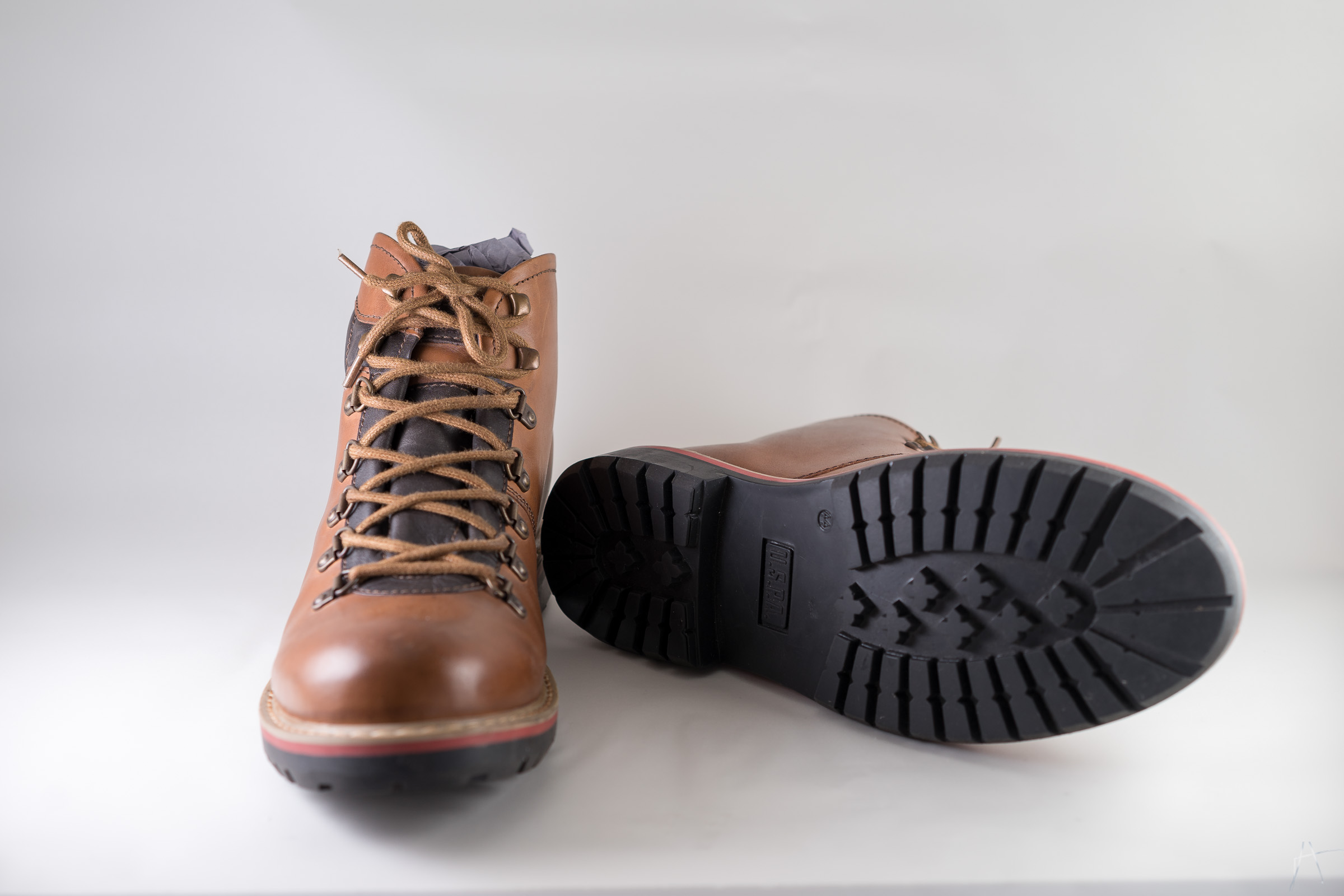 Mens brown shoes view 2