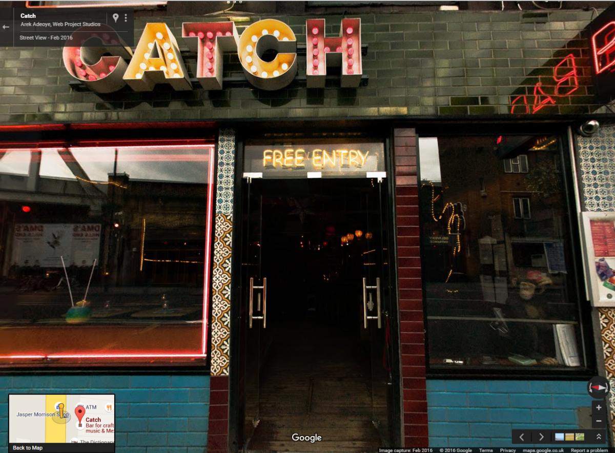 Catch Bar Shoreditch London